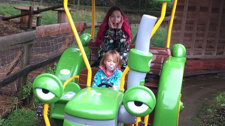 Gulliver's Land, Dinosaur and Farm Park: who let the four-year-old drive?