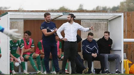 Biggleswade Town was Lee Allinson's first job as manager. Picture: DANNY LOO
