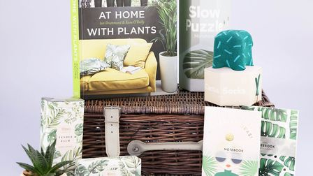 Gift for Plant Lovers Hamper, prices vary, Dobbies Garden Centres in store only. Picture: Dobbies Ga