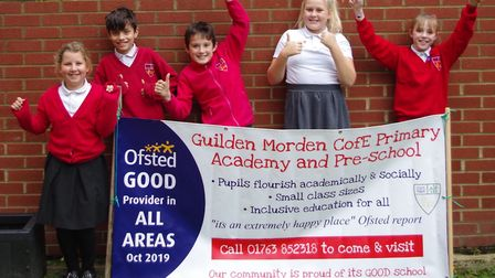 Guilden Morden CofE Primary Academy and Pre-School has been awarded an overall 'good' rating by Ofst