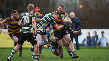St Albans V Hendon - Liam Rogers in action for St Albans against Hendon . Picture: Karyn Haddon