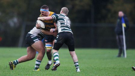 St Albans V Hendon - Ross Taylor in action for St Albans.Picture: Karyn Haddon
