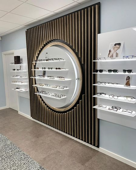 Skye Optometrists in Harpenden has reopened following a refurbishment. Picture: Supplied