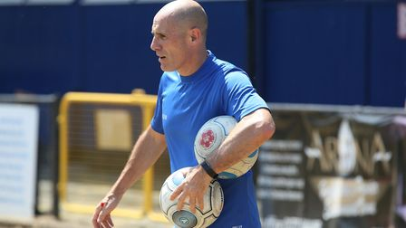 Glen Alzapiedi has left his role as assistant manager of St Albans City. Picture: DANNY LOO