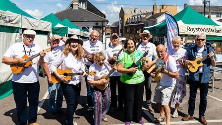 Royston U3A has more than 30 interest groups, including one for fans of the ukulele. Picture: David