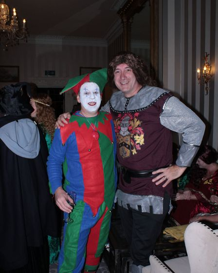 The Home-Start Herts medieval murder mystery in St Albans raised £6,200 for the charity. Picture: Ho