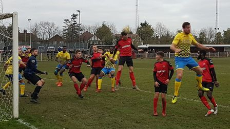 Harpenden Town fell to a 2-1 defeat at Harefield United.