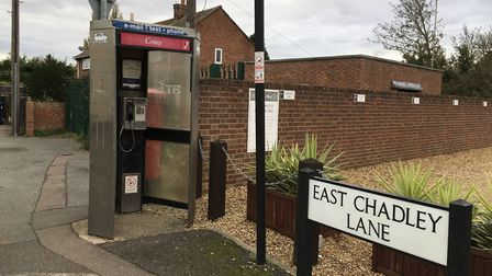 The phone box in East Chadley Lane, Godmanchester. Picture: ARCHANT