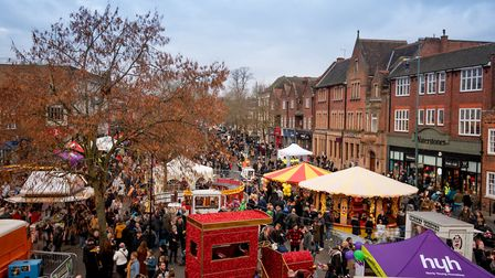 The Christmas Cracker street party in St Albans. Picture: Stephanie Belton