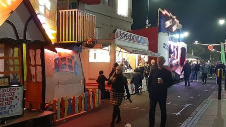 Hundreds of people enjoyed the St Albans Christmas Cracker event on Sunday, November 18. Picture: La