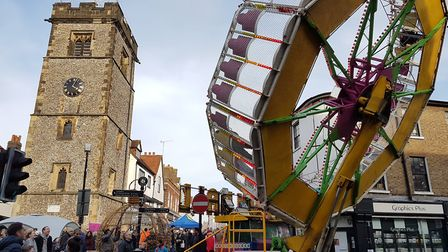 St Albans Christmas Cracker festival - picture by John Searle.