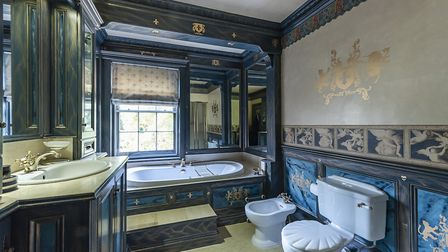 One of the en suite bathrooms. Picture: John Curtis