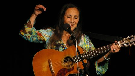 Julie Felix will be appearing at the next Folk at the Maltings concert in St Albans. Picture: suppli