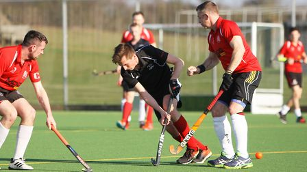 Simon Tenwick set Potters Bar on their way to victory at West Herts. Picture: KARYN HADDON