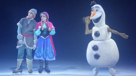 Disney on Ice - photo by Hillary Childs.