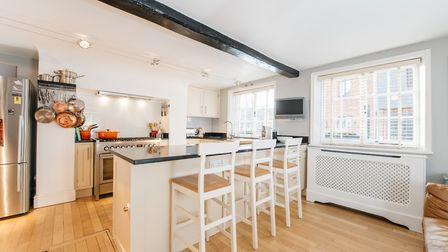 The property has a modern kitchen/breakfast room. Picture: Micahel Graham