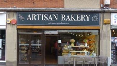 Artisan Bakery, The Quadrant, Marshalswick. Picture: The Local Data Company