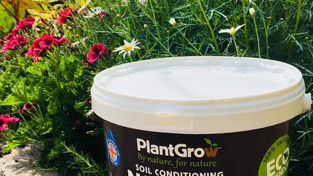 The fertiliser works its way into the soil and replaces the nutrients that your plants have drunk. P