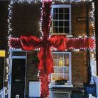 One of the competitors in previous years of the Christmas lights competition. Photo: David Glanville