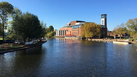 The Royal Shakespeare Theatre in Stratford-upon-Avon. Picture: Alan Davies