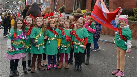 Thousands of people attended the Harpenden Christmas Carnival on Sunday. Picture: Harpenden Photogra
