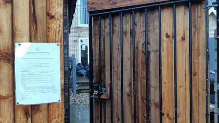 A house in St Neots has been issued with a closure order following police action.