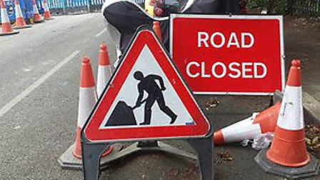 Roadworks in the eastern region for the next seven days