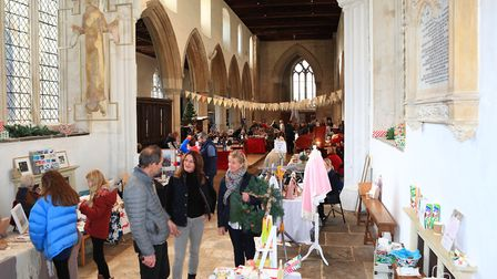 Ashwell Christmas Fayre 2019. Picture: KEVIN RICHARDS