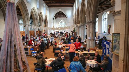 A great turnout for the Ashwell Christmas Fayre 2019. Picture: KEVIN RICHARDS