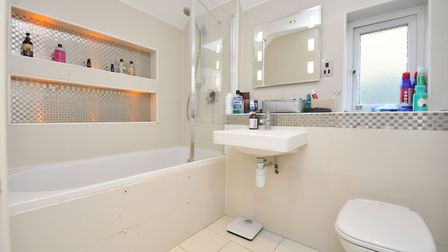 The house has a family bathroom and a downstairs cloakroom. Picture: Collinson Hall