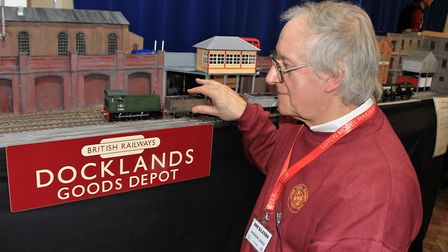 The time period of Andrew Jones' 'O' Gauge 'Docklands' is the late 1950s to early 60s during the ste