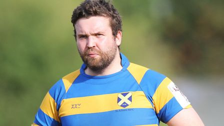 Harry Atherton scored both St Albans tries against Barnet. Picture: KARYN HADDON
