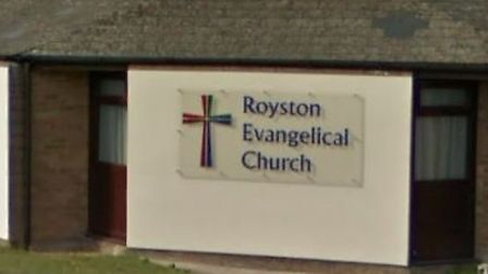 Royston Foodbank may reopen at the town's evangelical church. Picture: Google Street View