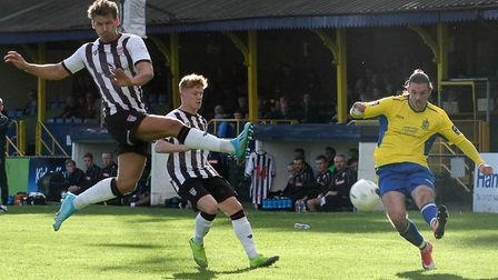 Tom Bender has now made 183 appearances for St Albans City. Picture: JIM STANDEN