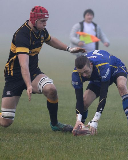 Warwick Brittany was one of the try-scorers as St Ives picked up their first win of the season again