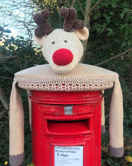 St Albans Postboxes are back for another year with postbox toppers across the city.