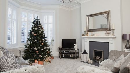 The police warn householders not to leave presents under the tree, particularly if they're visible f