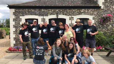 The EastFest team at The Coach House in Flint Cross. Picture: Steve Mallen