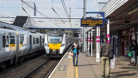 Trains are delayed after an incident at St Albans City station. Picture: Peter Alvey