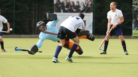 Mark Hoefield began the Harpenden comeback against Wapping. Picture: KARYN HADDON