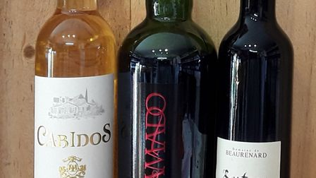 A selection of digestif wines.