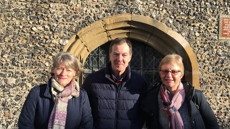 Jackie Wilks, Andrew Wilks and Sharon Shepheard are campaigning against the closure of respite care