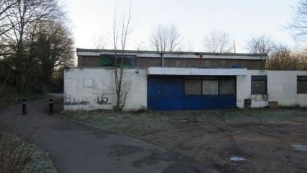 View of the existing Sopwell Youth Centre building from the footpath. Picture: Planning application