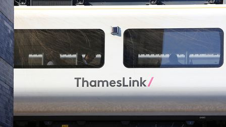 A bike which was thrown onto the overhead wires near to St Albans this afternoon has got caught wit