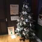 The Giving Tree in Christopher Place, St Albans.