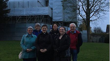 Volunteers are set for a 'sponsor a chair' fundraiser in aid of Royston's St John's Church, which su