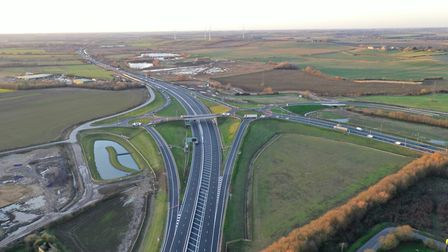 The new 12-mile Huntingdon bypass opened on Monday. PICTURE: Geoff Soden