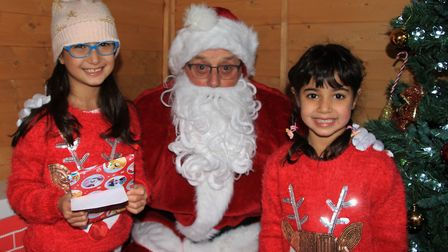 Young and old alike got in the festive spirit at the Turn On To Christmas event at the Melbourn Comm