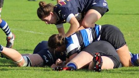 OA Saints suffered a 10-0 defeat away to Bath in the Women's Championship Division One South.