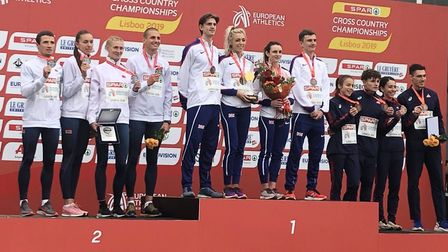 St Albans Athletics Club's James McMurray won his first gold medal in a GB vest at the European Cros